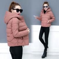 短款小棉袄宽松棉衣女2017冬装新款女装女士加厚外套韩版冬季