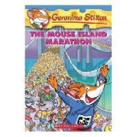 英文原版 老鼠记者30: 老鼠岛马拉松 Geronimo Stilton #30:The Mouse Island M