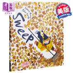 【中商原版】清扫 英文原版 Sweep 2019年凯特格林纳威奖入围绘本 情绪管理绘本 3-6岁