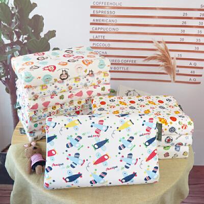 娇帛JIAOBO儿童乳胶枕头宝宝可爱卡通枕套橡胶枕(含内外双层枕套) 儿童乳胶枕
