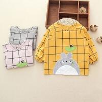 宝宝罩衣水婴儿童护衣吃饭围裙围衣长袖护衣