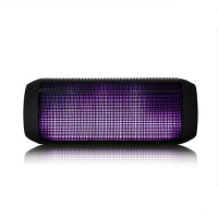 ROYQUEEN/朗琴 T900无线蓝牙音箱 插卡音响LED炫灯户外便携低音炮
