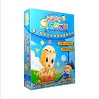 正版儿童动画学习 幼儿启蒙 大头儿子启蒙英语 学习字母ABC 适于3-4岁 4DVD 光盘
