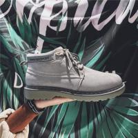DAZED CONFUSED 潮牌2017冬季新款靴子高帮运动鞋男士保暖休闲鞋马丁靴韩版潮