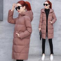 棉衣女中长款2017新款宽松加厚保暖羽绒冬季休闲韩版棉袄外套