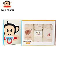 TWG3173617大嘴猴(Paul Frank) 纯棉新生儿 婴儿礼盒婴儿衣服套装春秋六件套初生用品满月礼