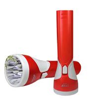 强光手电筒 充电手电筒 8颗LED灯手电筒塑料户外便携手电筒