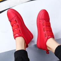 DAZED CONFUSED 潮牌冬季加绒男士棉鞋韩版潮流皮防水休闲鞋鞋松紧