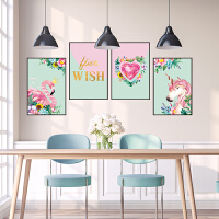 粉色少女心房间装饰品北欧贴纸卧室客厅背景墙贴画自粘墙纸