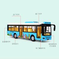 儿童公交车玩具男孩大号双层巴士仿真合金汽车模型大巴车