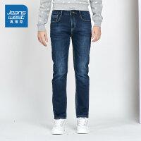 [5折秒杀价:70元,真维斯年终狂欢,仅限12.11-12]真维斯男装 冬装新款 休闲弹力轻商务牛仔裤