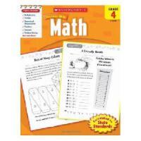 英文原版Scholastic Success With Math, Grade 4学乐成功英语 4年级数学