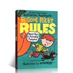 顺丰发货 英文原版 Roscoe Riley Rules #7: Never Race a Runaway Pumpk