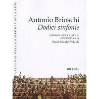 【预订】Dodici Sinfonie: Twelve Symphonies