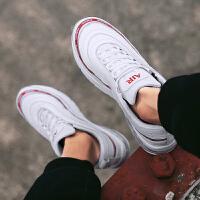 新款夏季潮鞋休闲运动鞋男鞋韩版潮流气垫跑步增高小白鞋透气