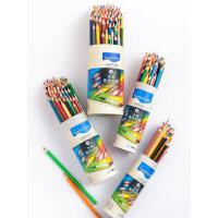 Marco马可72色水溶性油性彩铅笔专业绘画彩铅手绘秘密花园涂色学生儿童绘画用水溶款彩色铅笔水融性4300/4320