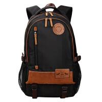 卡拉羊休闲双肩包旅行背包7�挤勒鸶舨愕缒员嘲�韩版潮包旅行背包CX5640