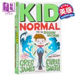【中商原版】麻瓜小子和影子机器 英文原版 Kid Normal and the Shadow Machine 少年文学