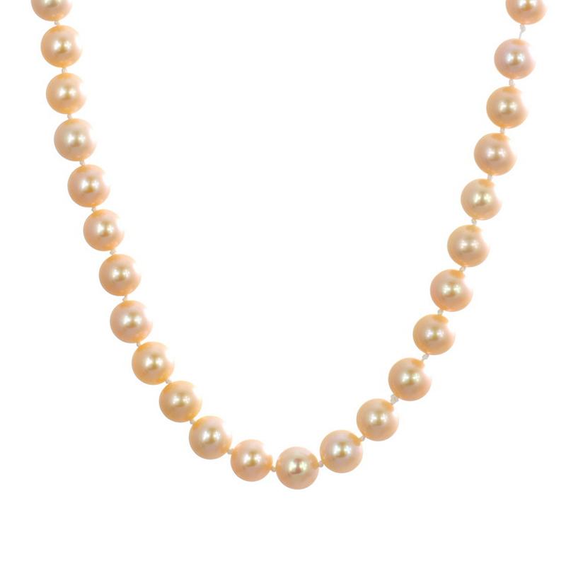 梦克拉  淡水珍珠项链 倾心  女式珍珠项链 春暖花开 行走的高级感 耀眼夺目 更出色