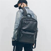 潮牌双肩包男士商务背包旅行防雨百搭高中学生电脑书包时尚潮流女
