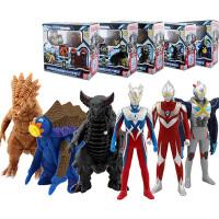 万代捷德奥特曼玩具软胶怪兽变身器艾克斯银河迪迦赛罗超人欧布