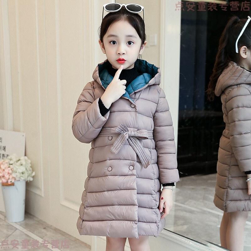 女童棉衣2018新款韩版儿童中长款加厚女孩棉袄中大童冬装外套 发货周期:一般在付款后2-90天左右发货,具体发货时间请以与客服协商的时间为准