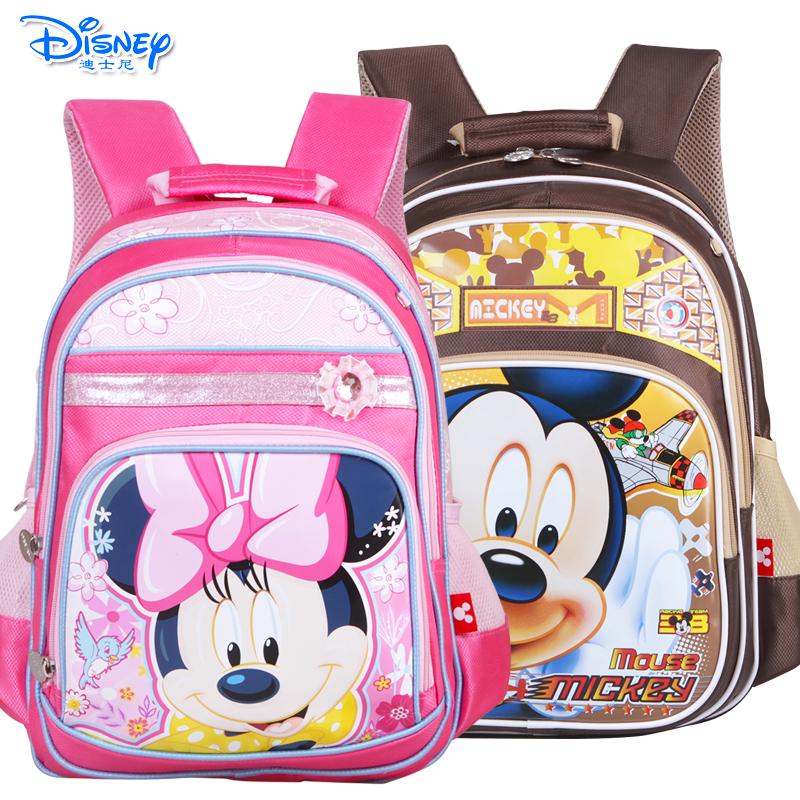 迪士尼幼儿园学前班小学生书包1-2年级米奇米妮儿童双肩卡通书包