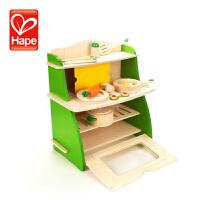DP-会员 德国Hape过家家厨房玩具 女孩做饭煮饭厨具餐具儿童过家家套装