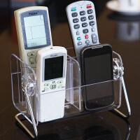遥控器收纳盒创意客厅桌面收纳盒亚克力化妆品收纳盒杂物收纳盒