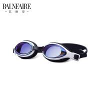 范德安近视泳镜 高清电镀防水防雾防晒 男女专业游泳眼镜训练装备