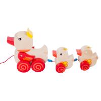 手拉绳婴儿玩具拖拉玩具 小拖车 儿童玩具 1岁宝宝玩具
