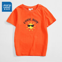[618提前购专享价:29元]真维斯男童 2020春季新款 休闲纯棉平纹圆领合身短袖印花T恤