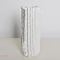 陶瓷花瓶装饰摆件现代简约客厅卧室北欧创意白色摆设器皿插花花器