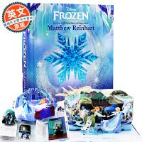 冰雪奇缘立体书 英文原版 Frozen: A Pop-Up Adventure 迪士尼纸雕艺术故事书 儿童英语阅读玩具