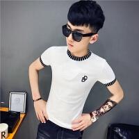 小码小号男女短袖T恤精神社会小伙修身潮流韩版上衣