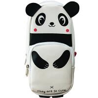 广博(GuangBo)大容量铅笔袋学生文具袋收纳袋萌宠熊猫 HBD02358当当自营