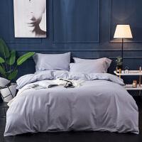 色全棉磨毛四件套 埃及长绒棉加厚提花保暖北欧风床上用品