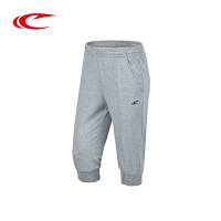 赛琪正品夏季新款男士运动裤休闲透气针织七分裤男子跑步健身短裤