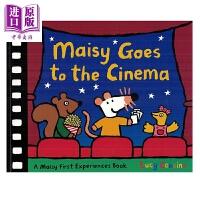 【中商原版】小鼠波波系列 Maisy Goes to the Cinema 小鼠波波看电影 低幼早教启蒙认知 平装 英文