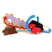 熊出没光头强电锯熊大熊二电动声光玩具锯子套装儿童玩具转动砍树