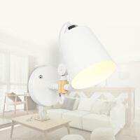 幽咸家居实木壁灯过道阳台北欧原木风格卧室床头简约YX-LMD-9001