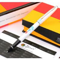 imio毕加索PS-606财务特细钢笔墨水笔学生钢笔白 黑 黄 粉色