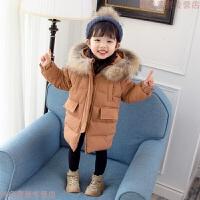 女童冬装2018新款棉衣中长款1-3岁女宝宝24公主棉袄羽绒服潮5