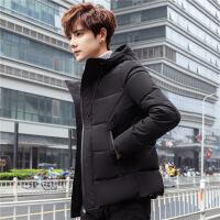 男士棉衣冬季2018新款韩版潮流帅气羽绒男装短款加厚棉袄外套