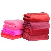儿童午睡小毛毯毛巾被办公室空调膝盖毯珊瑚绒宠物小毯子 100CM*70CM