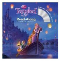 【现货】英文原版儿童书 Tangled ReadAlong Storybook and CD 长发公主 有声读物 迪士