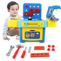 儿童工具箱玩具套装螺丝刀维修理宝宝多多工具台