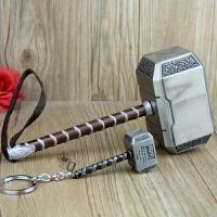 模型儿童玩具道具 复仇者联盟雷神之锤钥匙扣挂件托尔锤子武器