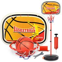 宝宝室内外游戏投篮男孩玩具可壁挂儿童可升降铁杆篮球架1-3-6岁