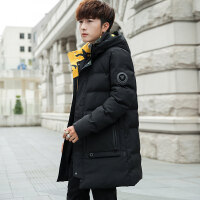 棉衣男士外套中长款2018冬季新款冬装棉袄韩版潮加厚工装羽绒